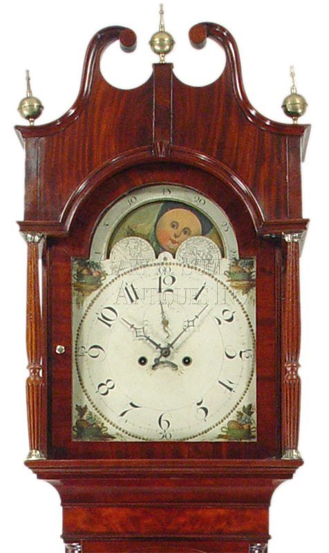 New Jersey antique grandfather clock