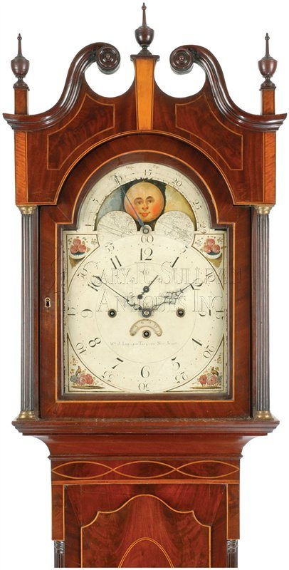 antique musical New Jersey clock