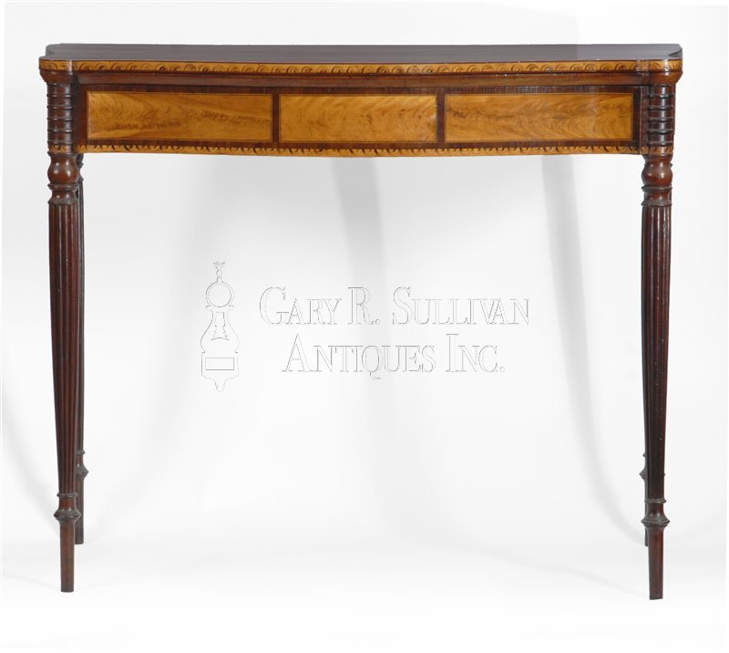 antique Seymour games table