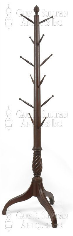 antique Sheraton hat stand