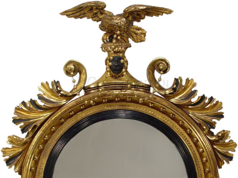 Detail of Classical Girandole Mirror