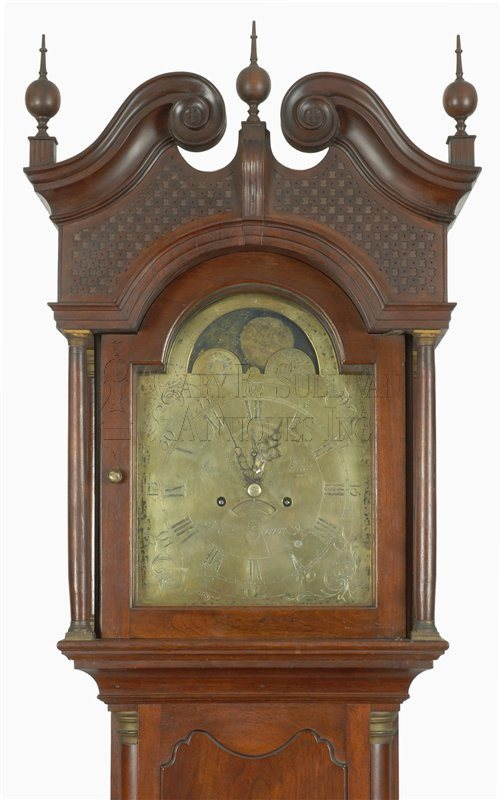 New Jersey antique tall case clock