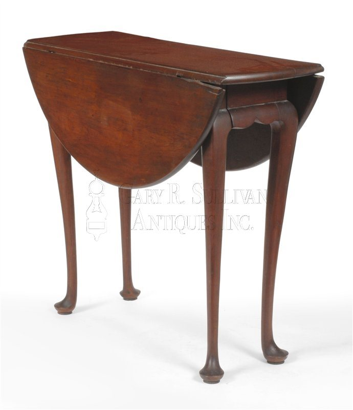Queen Anne antique drop leaf table