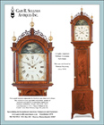 Ad for an antique William Cummens tall clock