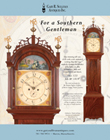 Ad for an antique tall case clock by John Bailey