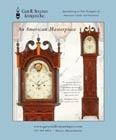 Ad for an antique New Jersey tall case clock