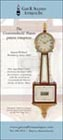Ad for an antique Simon Willard patent timepiece