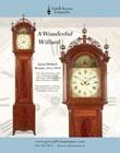 Ad for an antique Aaron Willard grandfather clock