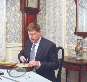 Gary R. Sullivan, Antique Clock Dealer and Early American Antiques Expert