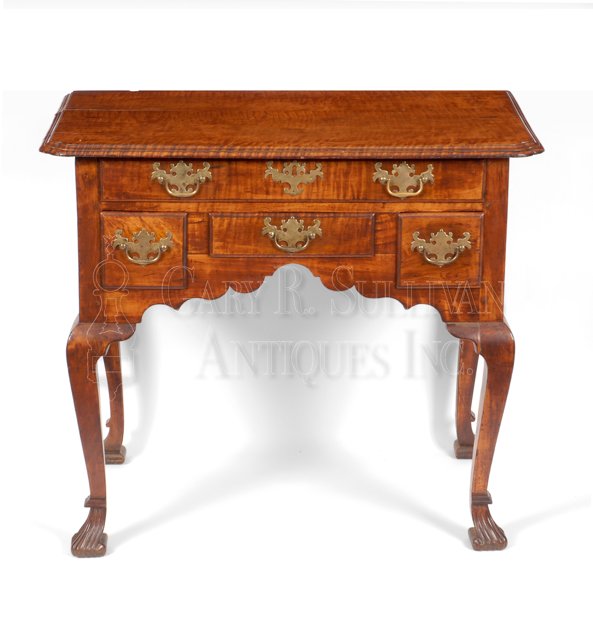 Early Queen Anne Dressing Table Boston 1725 40 Clocks 10093 Gary Sullivan Antiques