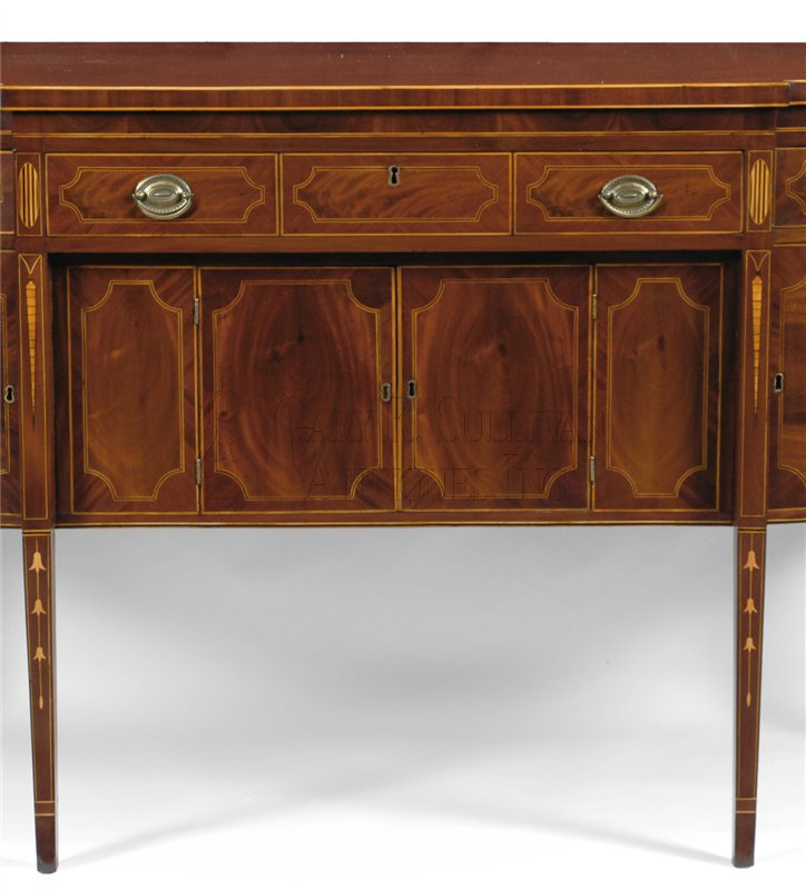 Federal inlaid sideboard new york ny furniture 12001 for Sideboard york