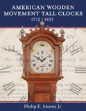 Phillip Morris Jr's American Wooden Movement tall clocks