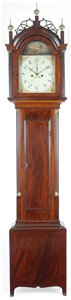 Reuben Tower antique tall clock