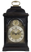 Pearsall antique New York bracket clock