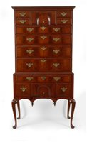 Queen Anne flat top high chest