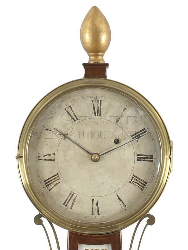 Simon Willard Banjo dial