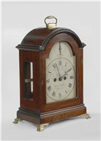 Philadelphia antique bracket clock
