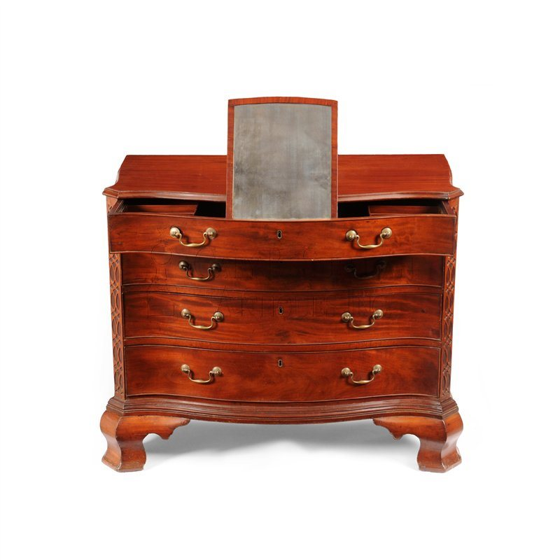 Gostelowe Chippendale chest open