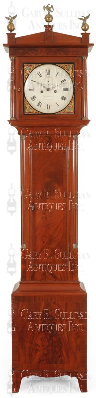 William Mitchell classical tall clock