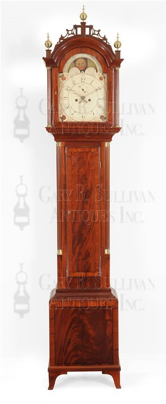 William King Tall clock