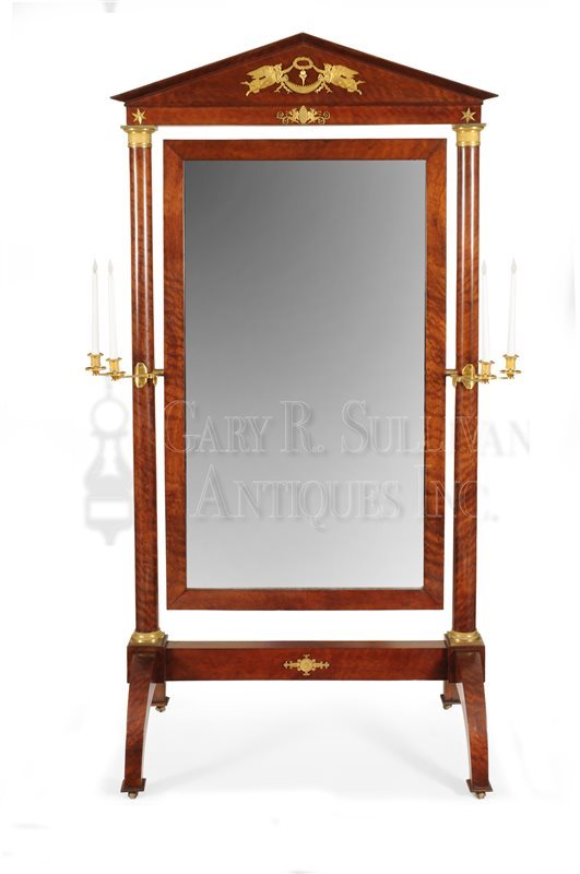 Classical cheval mirror
