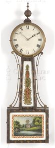 Simon Willard antique banjo clock