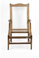 Federal antique easy chair