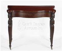 Sheraton antique games table
