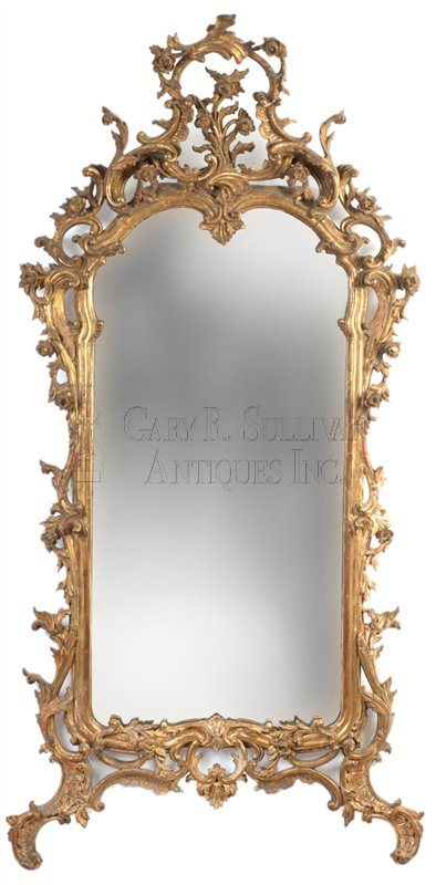 Georgian Mirror, English Rococo