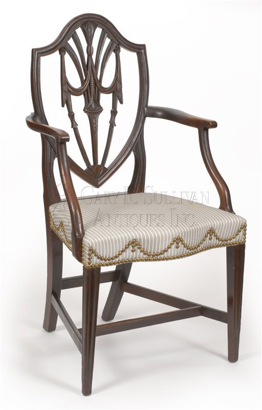 antique Newport dining chair