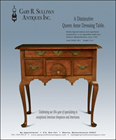 Ad for an antique Queen Anne dressing table