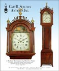 Ad for an antique Elnathan Taber tall case clock
