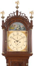 I need help locating northern clocks sold in the south 200 years ago