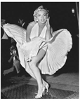 "Marilyn Monroe's ""subway dress"" sets record at auction"