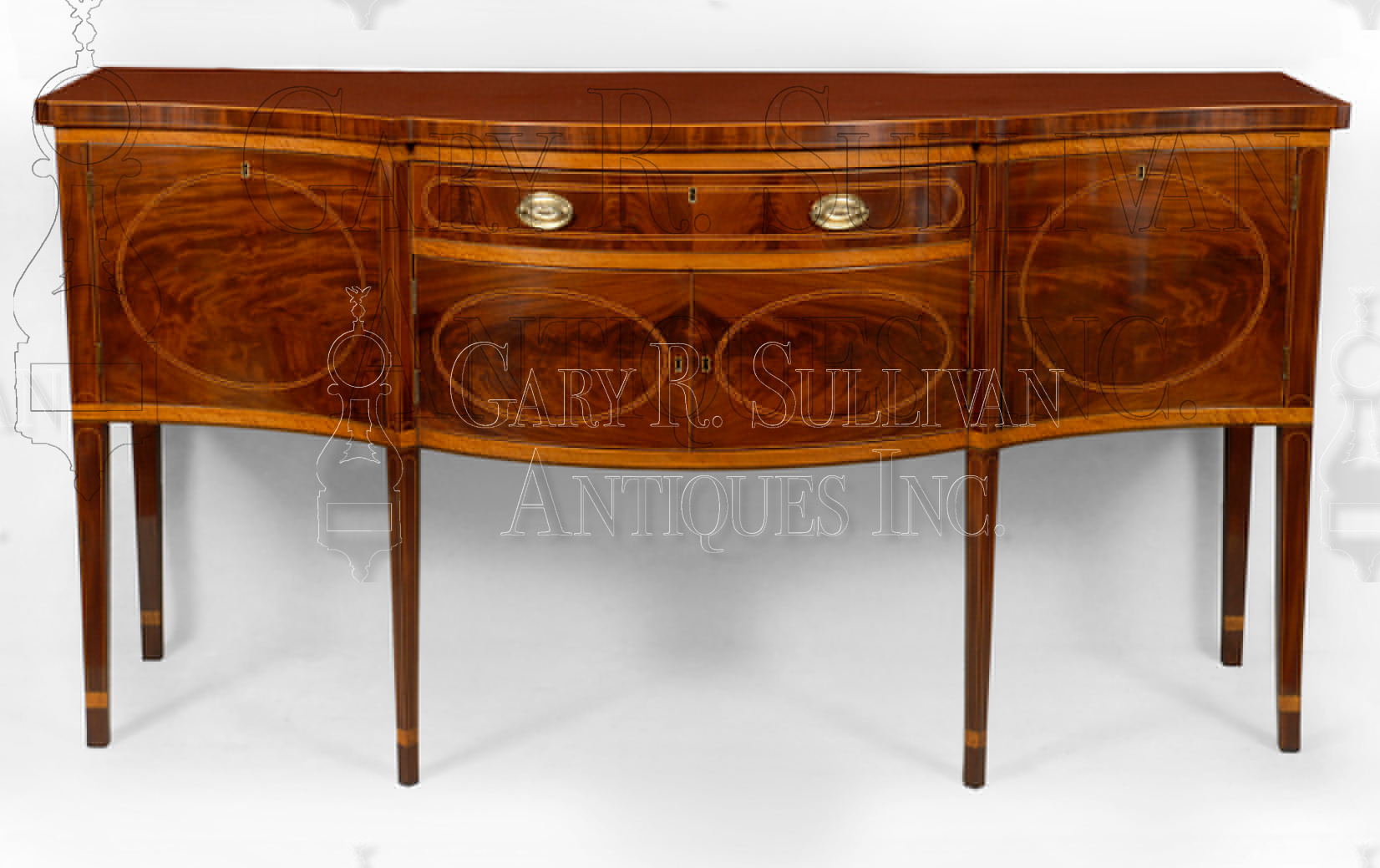 Federal inlaid sideboard new york ny furniture 10050 for Sideboard york