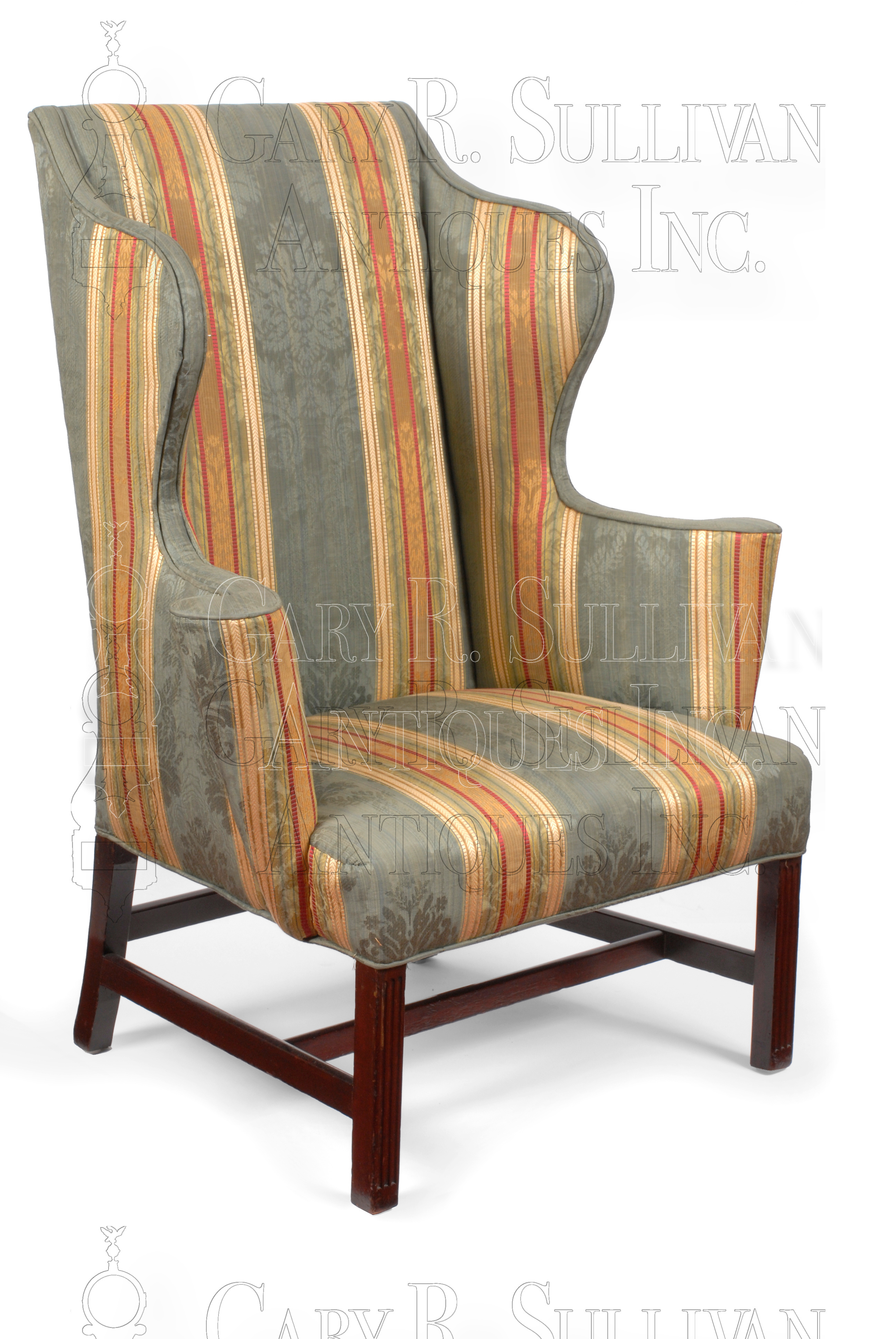Chippendale wing back chair circa 1760 80 Clocks Gary