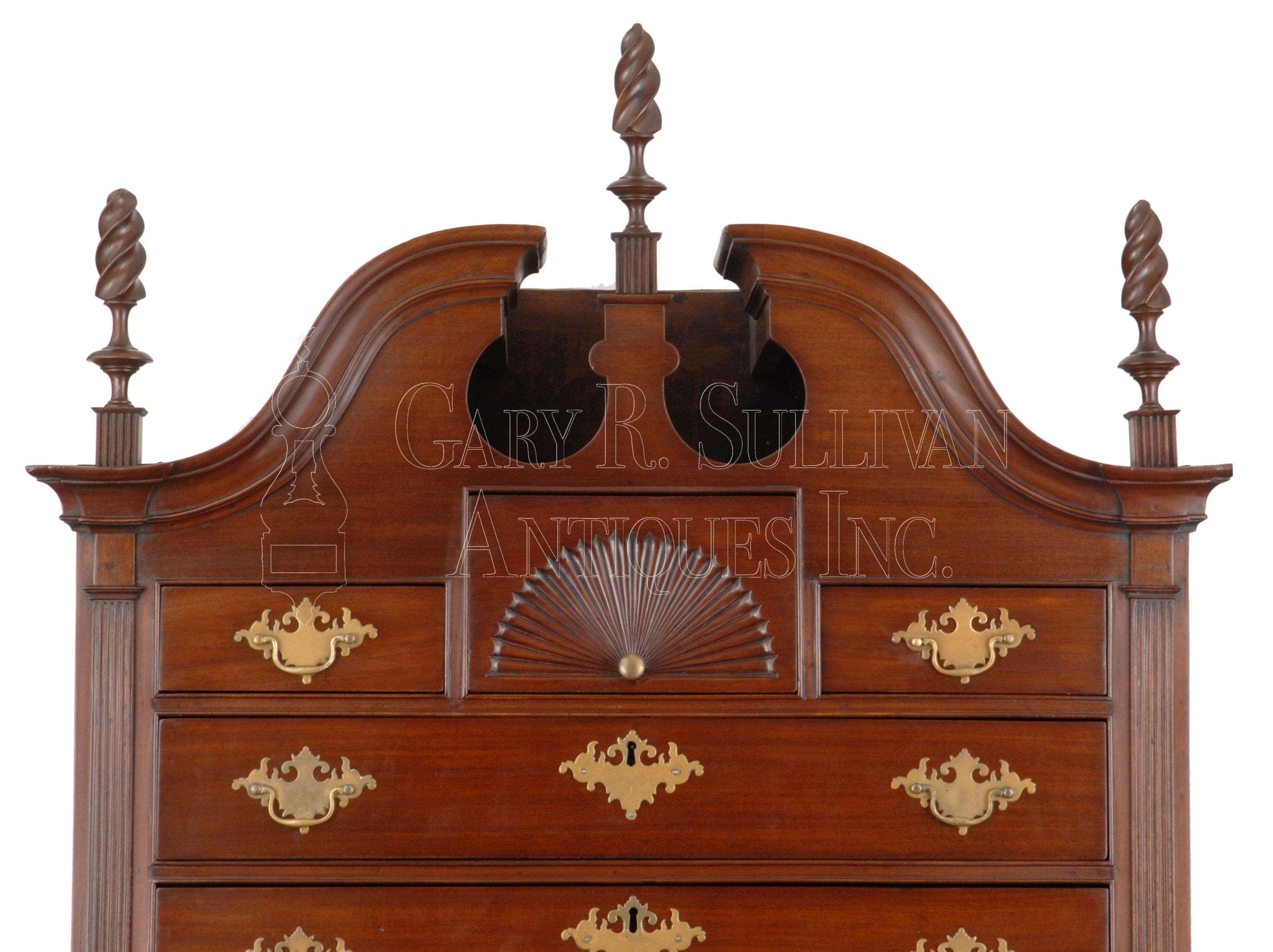View in Browser. Chippendale Chest On Chest  Norwich  CT   Furniture 09025   Gary