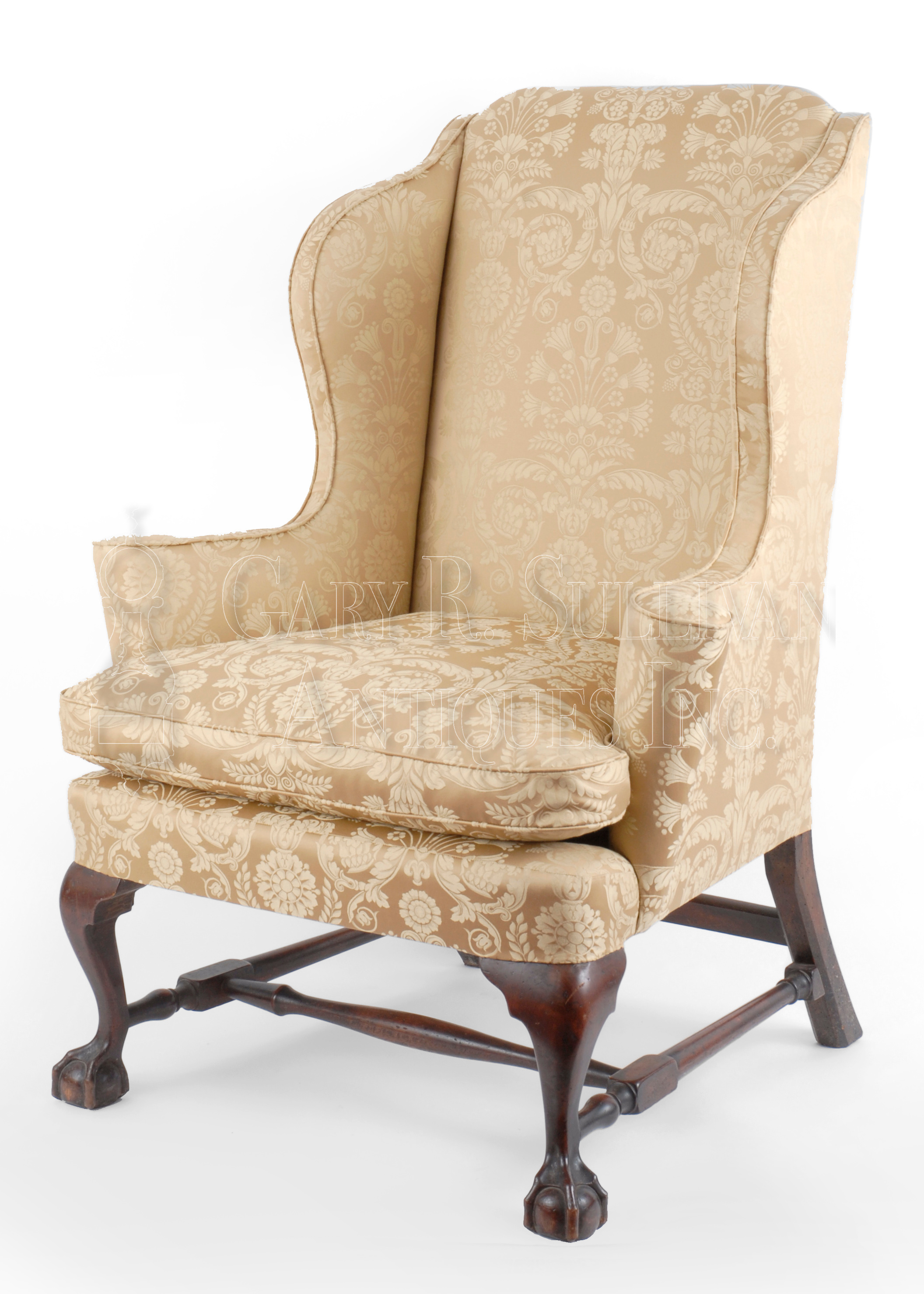 View In Browser Or Download Image. Chippendale Wingchair