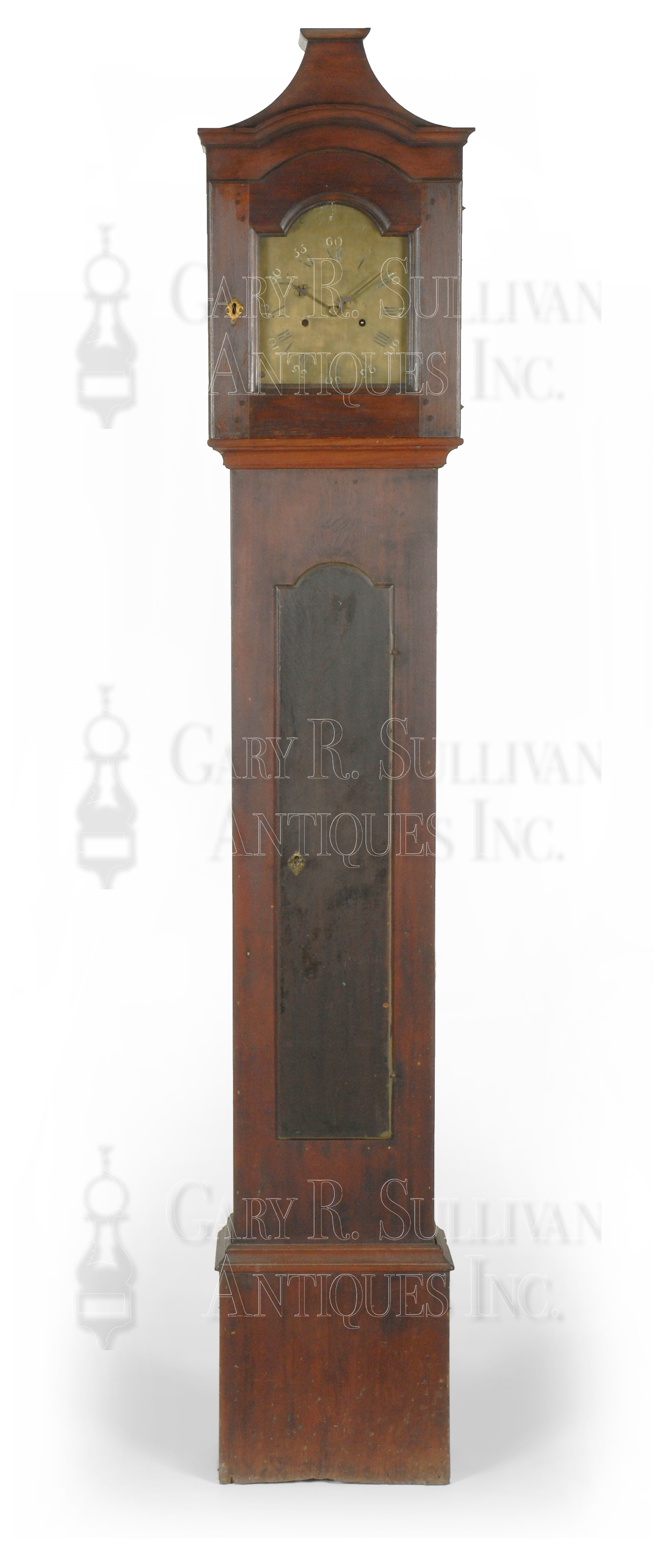 View in Browser ... - Nathaniel Dominy Tall Clock (East Hampton, Long Island) - Clocks