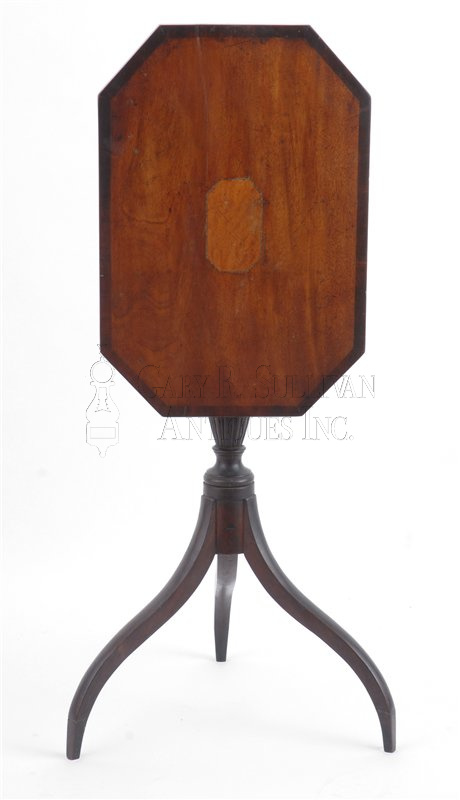 antique Federal candle stand - Federal Candle Stand, Salem, Mass - Furniture 08049 : Gary