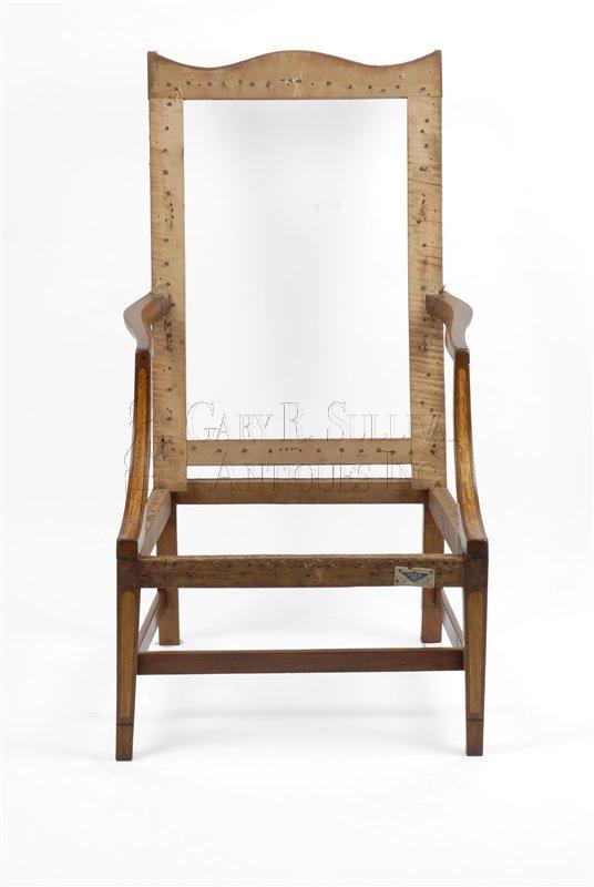 Federal antique easy chair - Federal Easy Chair, Eastern, Mass - Clocks 07055 : Gary Sullivan