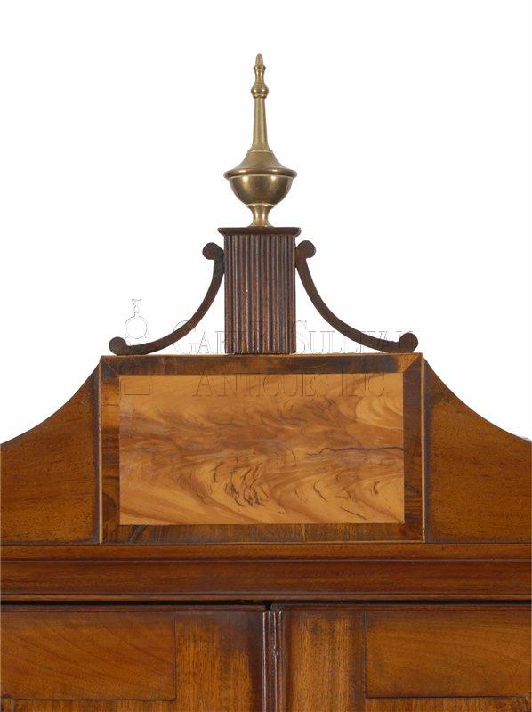 Federal Desk Amp Bookcase Portalnd Maine Clocks 010089