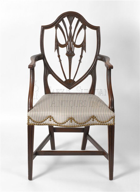 Charmant Antique Newport Dining Chair