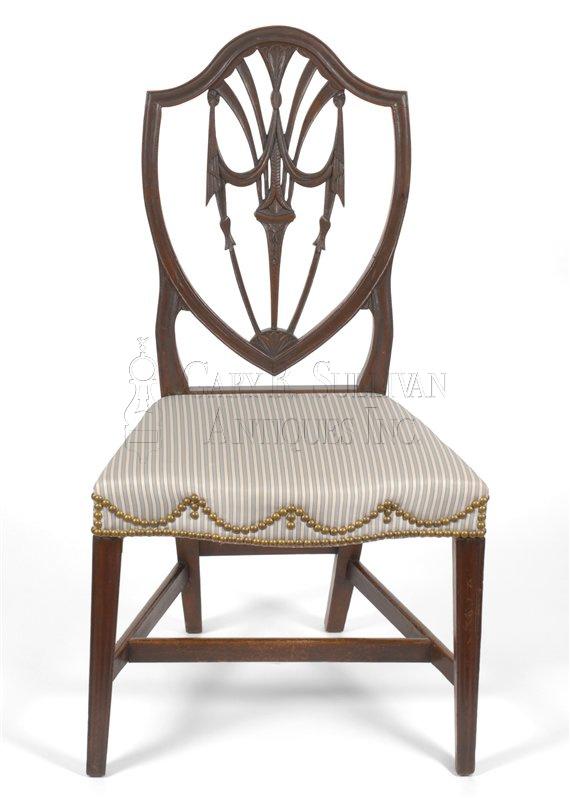 Hepplewhite Dining Chairs Newport Ri Clocks 11001 Gary Sullivan Antiques Antique Clock Dealer Antique Furniture Expert