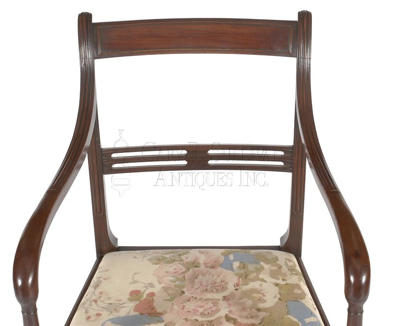 Regency Antique Dining Chairs Armchair