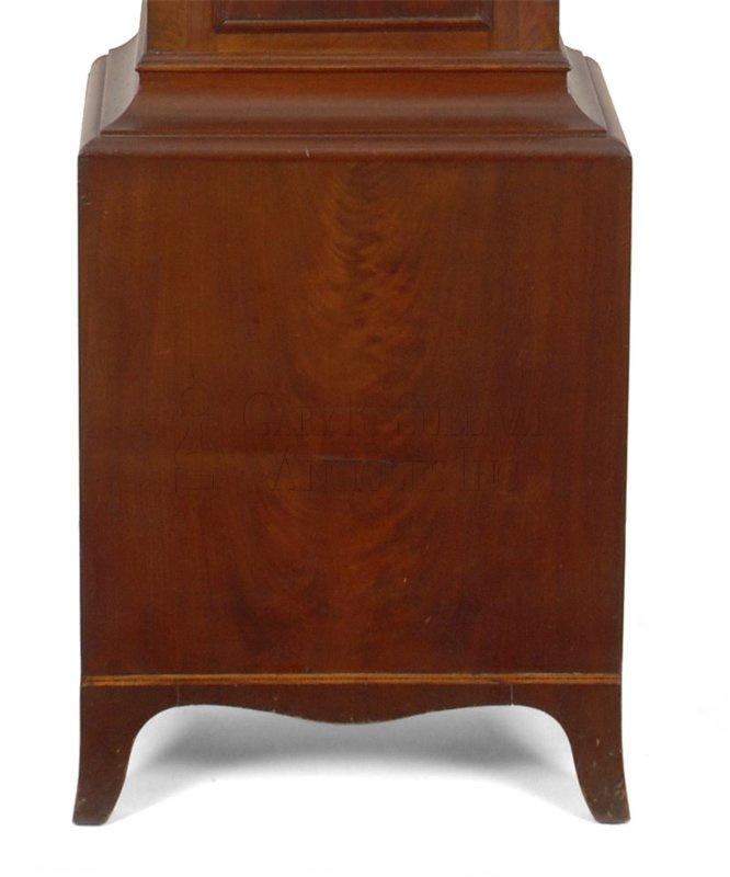 William McCabe Roxbury case clock base - William McCabe Roxbury Tall Clock (Richmond, VA) - Clocks 13033