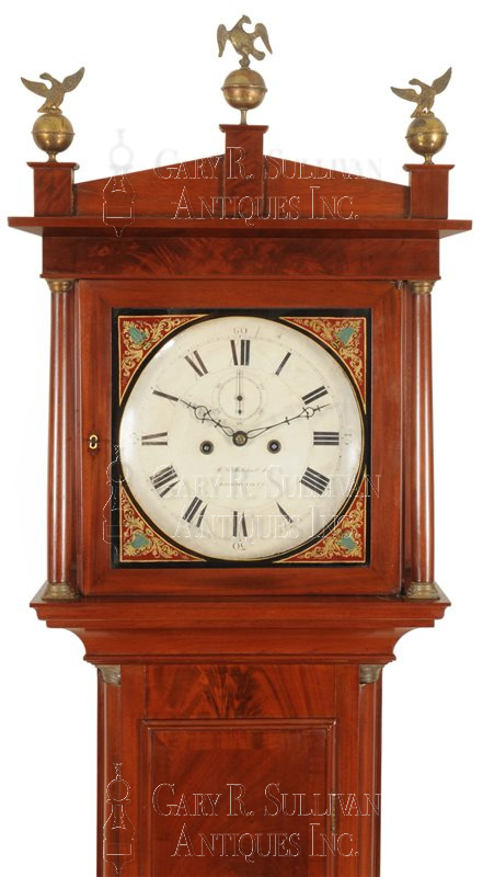 William Mitchell classical tall clock dial - William Mitchell Classical Tall Clock (Richmond,VA) - Accessories