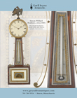 Simon Willard Banjo clock image