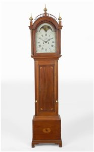 John Bailey II antique tall clock