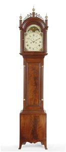 John Bailey II tall case clock